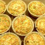 muffins med squash og hvidløg