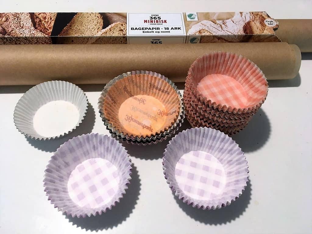 Muffinsforme indeholdende skadelige stoffer