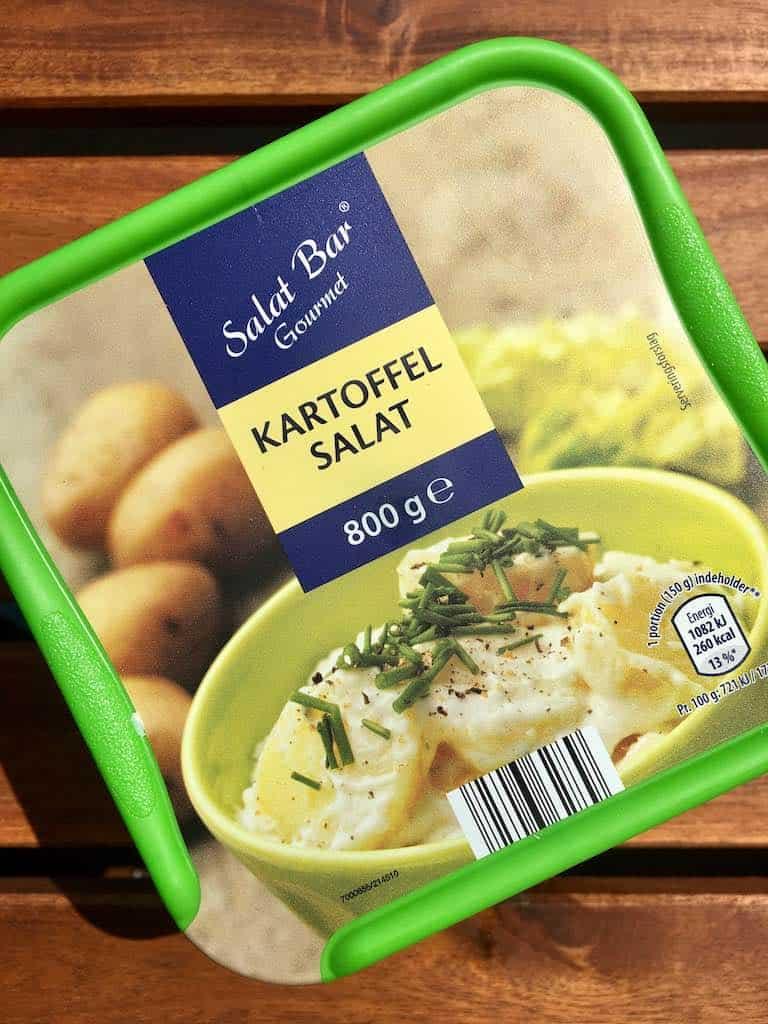 Smagstest af kartoffelsalat, Salat Bar Gourmet