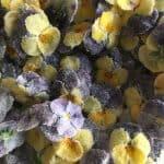 Kandiserede blomster