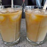 billede med verdens bedste iskaffe