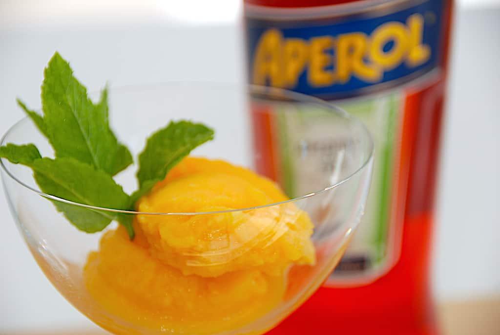 Billederesultat for Aperol Spritz sorbet is