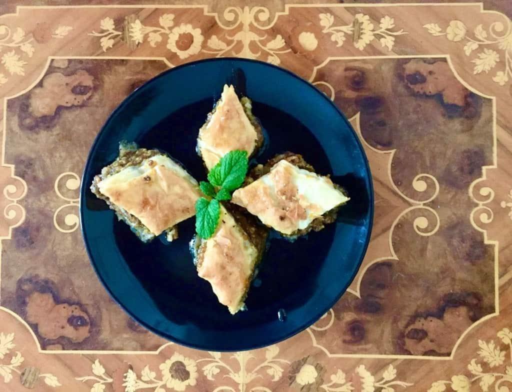 Baklava - en favoritdessert fra Mellemøsten