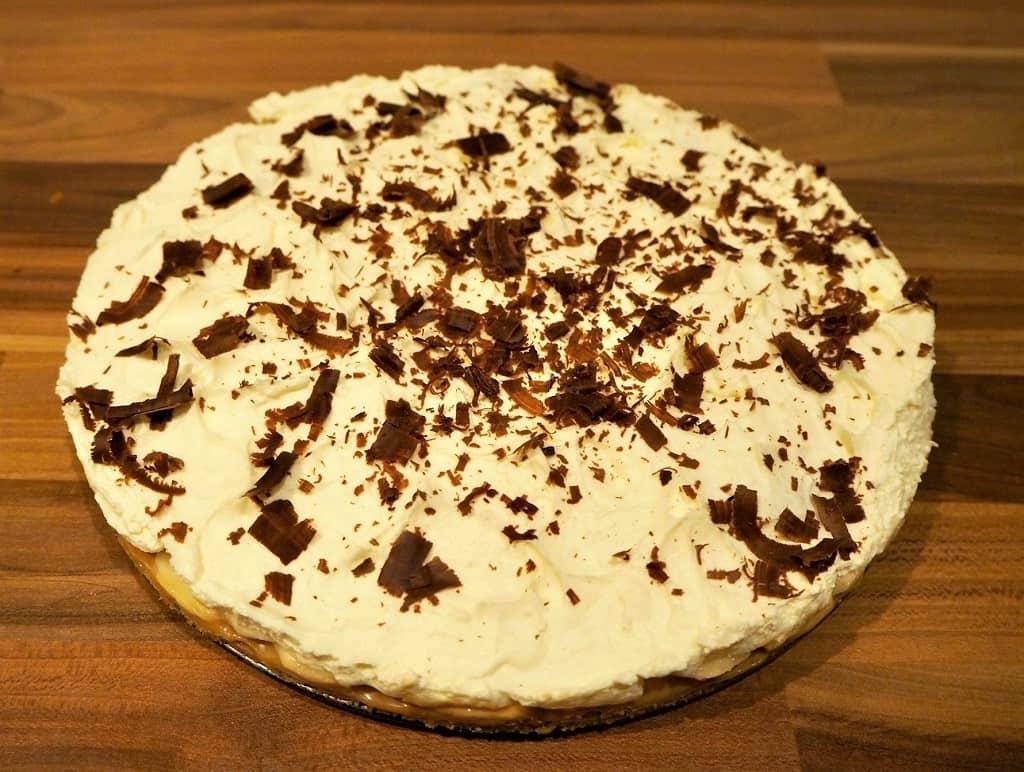 Banoffee pie - skøn tærte med banan og karamel