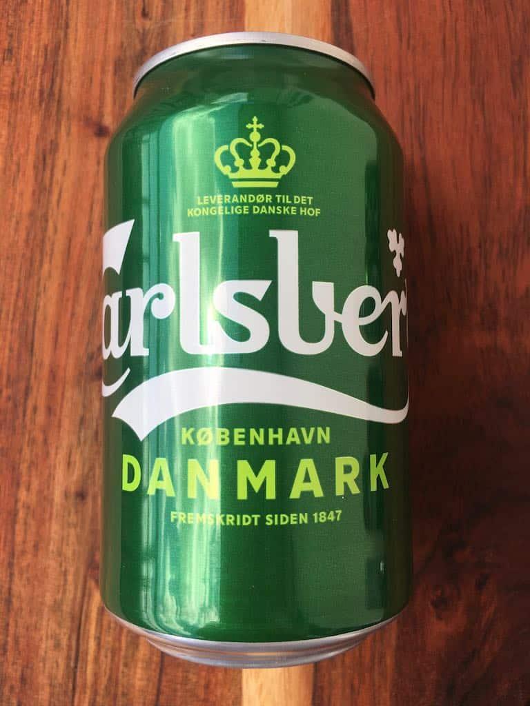 Smagstest af øl, Carlsberg