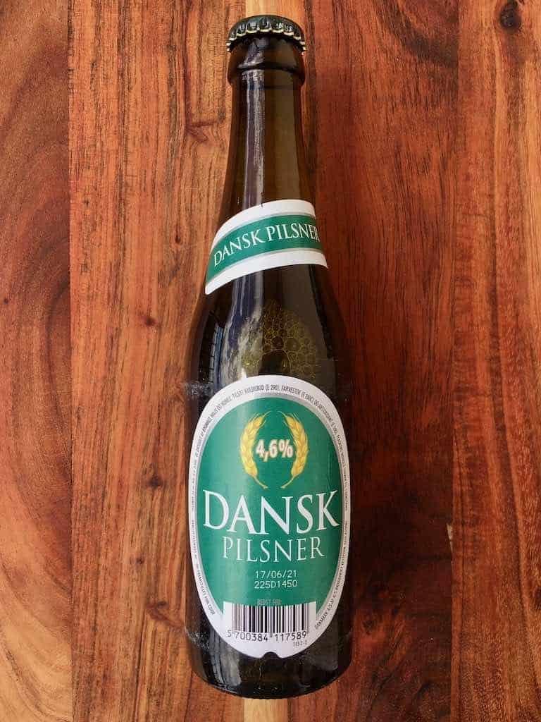 Smagstest af øl, Dansk pilsner