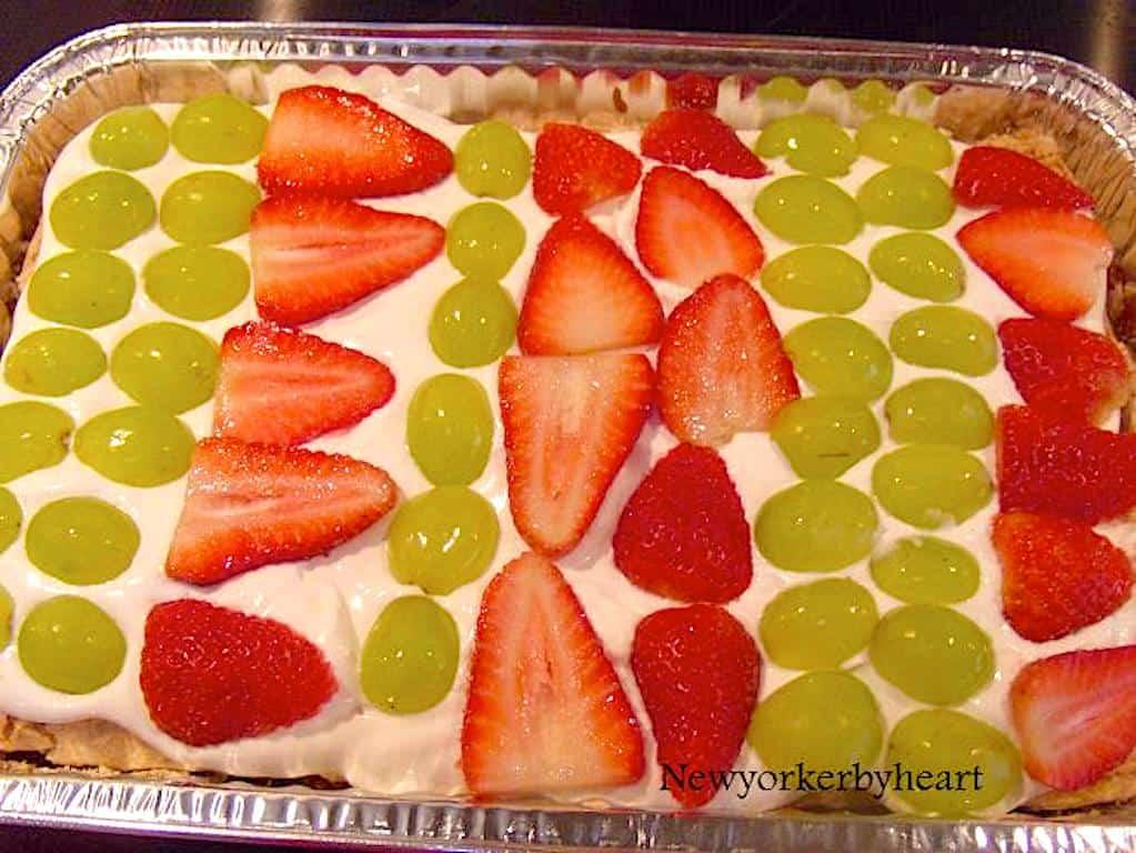 Gunvor kage - lækker dessertkage med marengs
