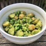 billederesultat for kartoffelsalat med pesto