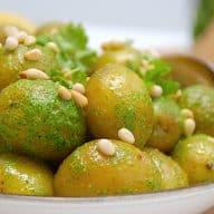billederesultat for nemme kartofler med persillepesto
