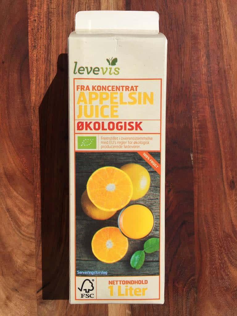Smagstest af appelsinjuice, Levevis