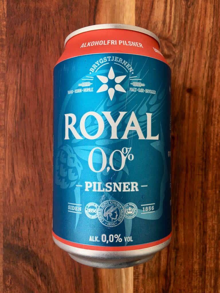 smagstest af alkoholfri øl, Royal
