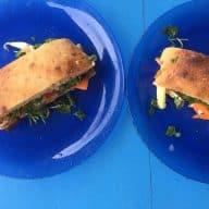 Bahh mi sandwich