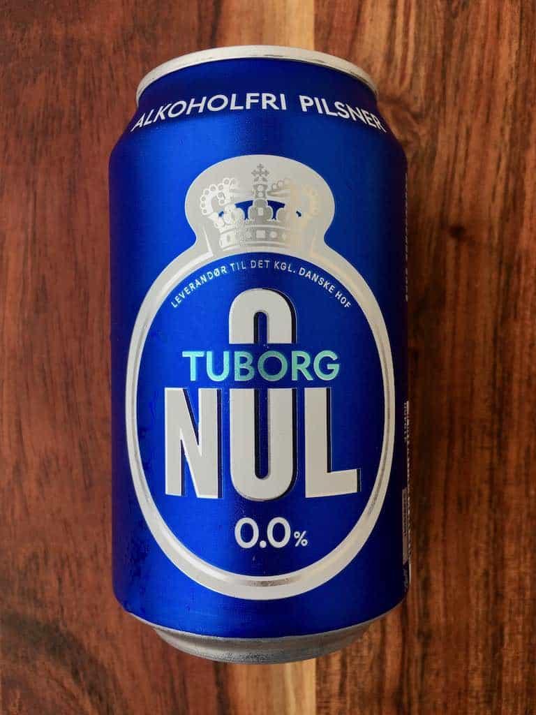 smagstest af alkoholfri øl, Tuborg