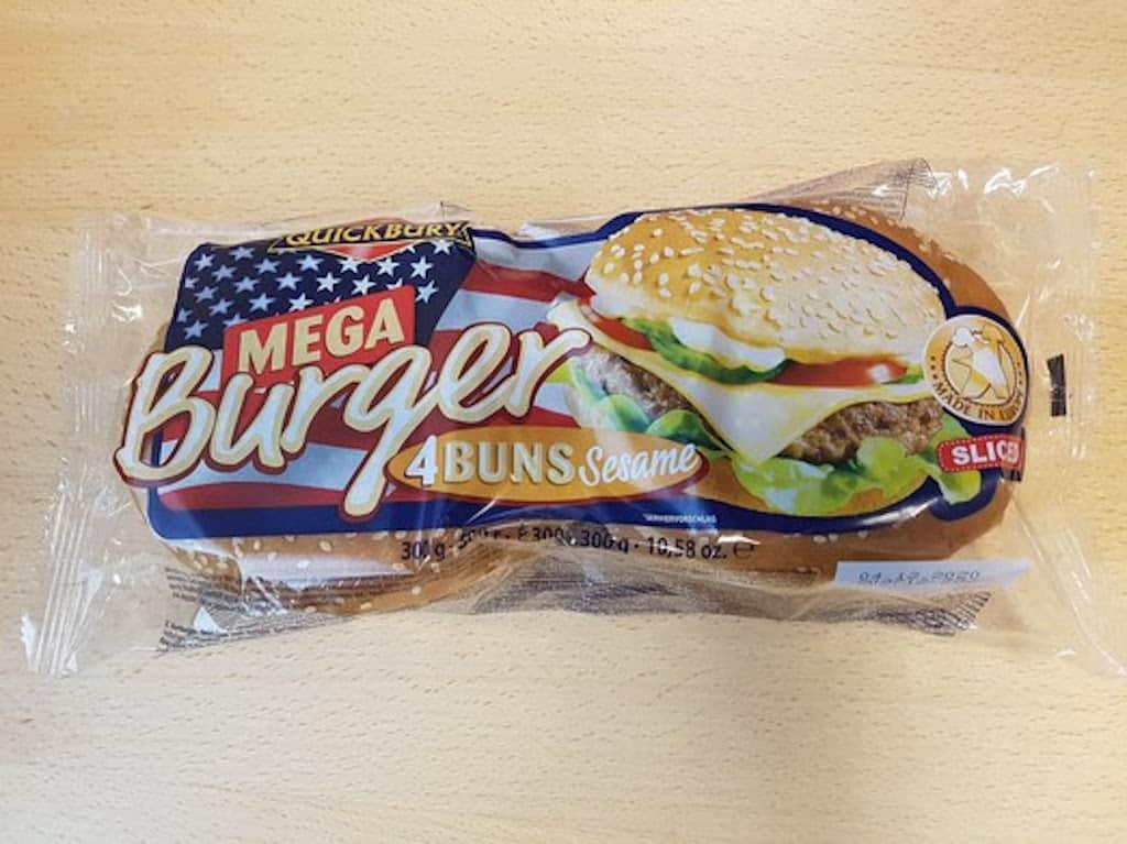 burgerboller fra Netto