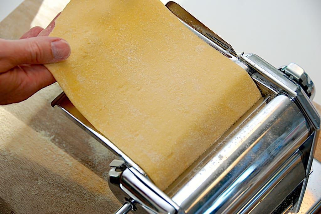 Hjemmelavede lasagneplader med eller uden maskine