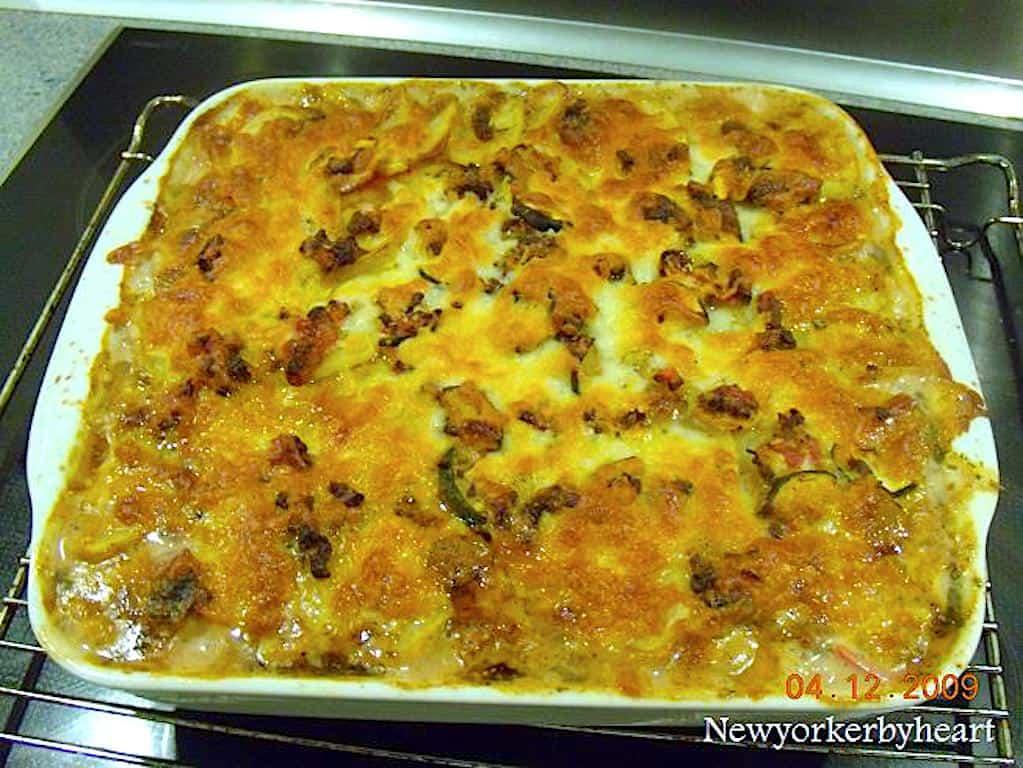 Kartoffellasagne med oksekød - god mad til hele familien