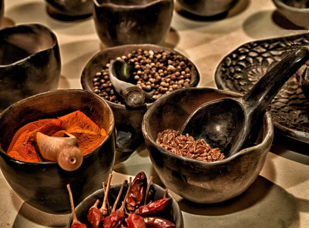 Kyrdderier til mexicansk mad