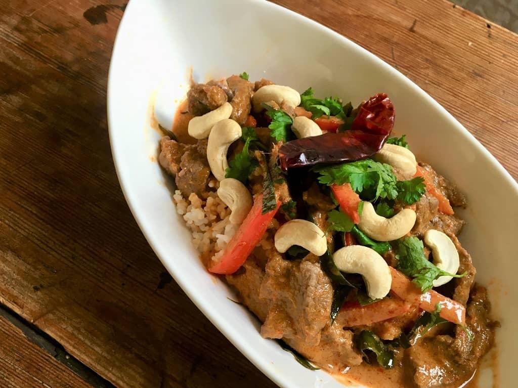 Panang Curry - verdens bedste thaimad med oksekød