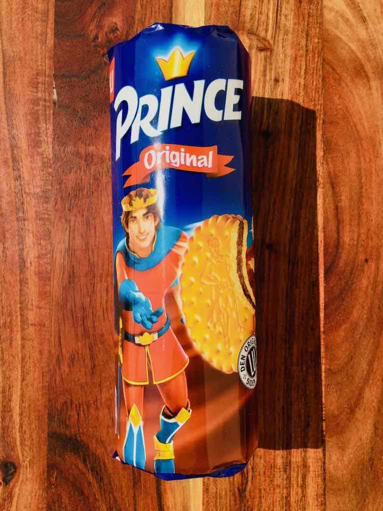 Smagstest af chokoladekiks, Prince
