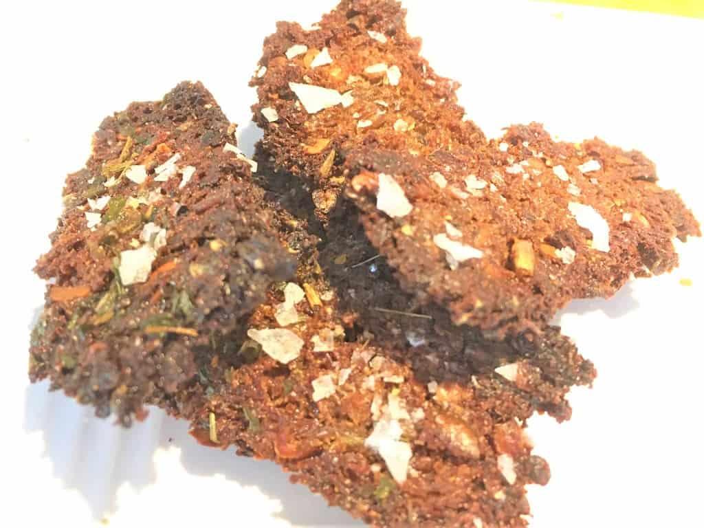 Rugbrødschips - superhurtig opskrift på  snacks