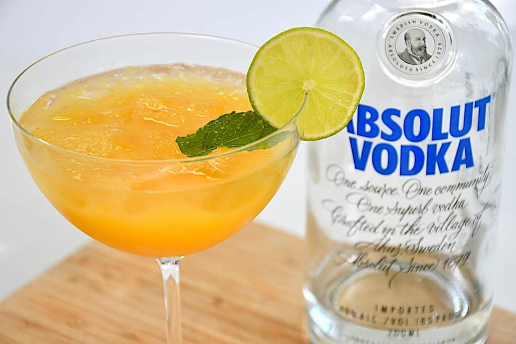 Screwdriver - lækker drink med vodka og appelsinjuice