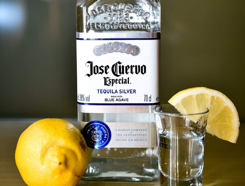 Tequila med citron
