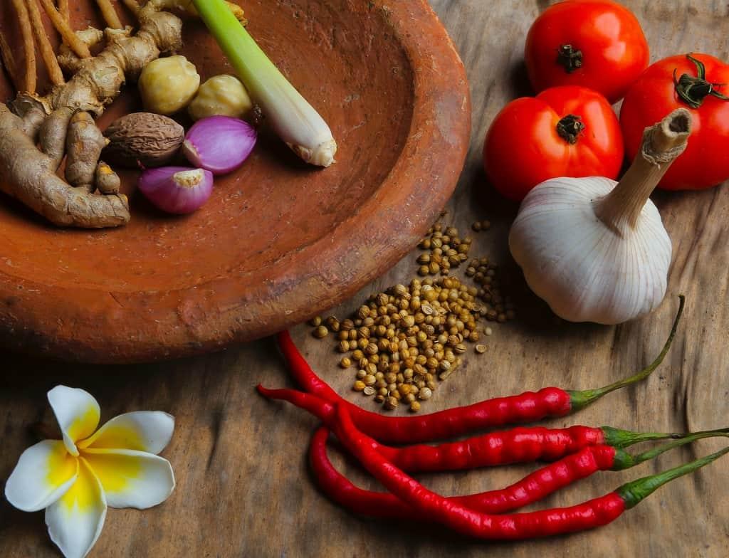 Krydderier til thaimad