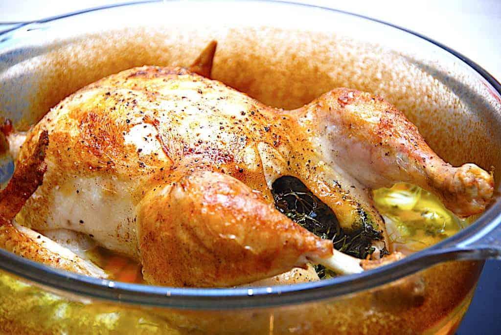 Kyllingfoto til pas på kyllingen