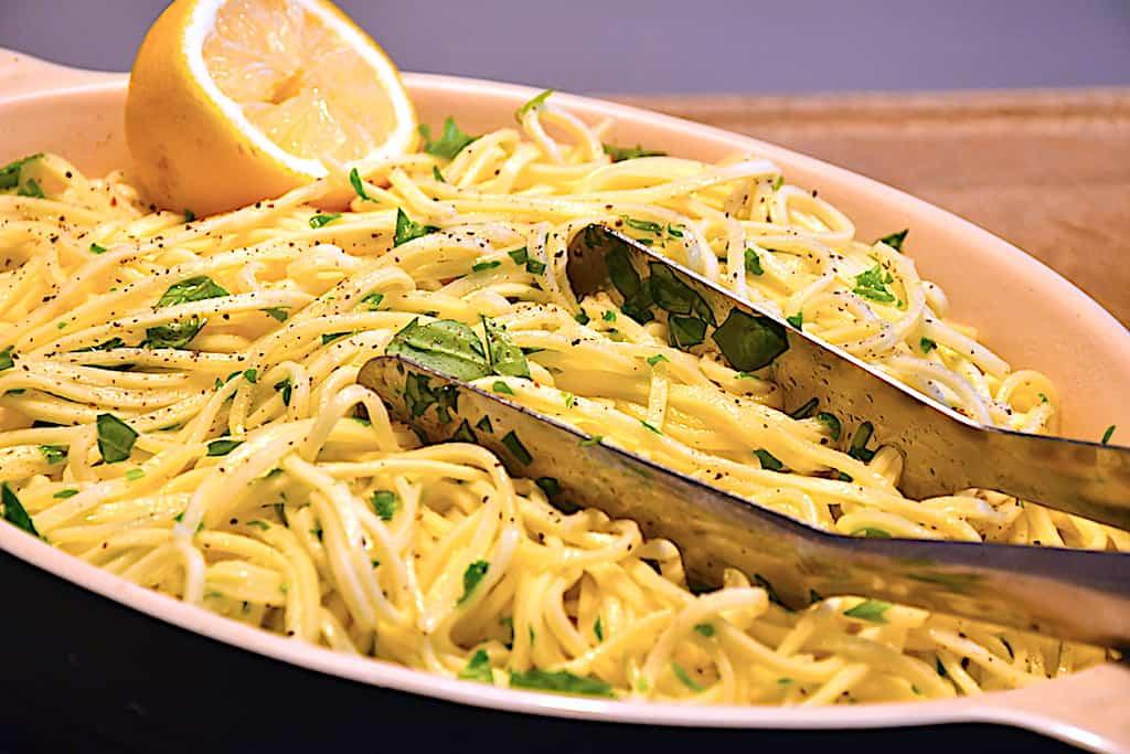 Pasta med krydderurter på 15 minutter