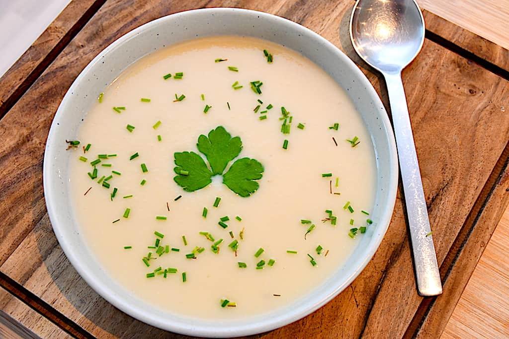 Persillerodssuppe - cremet suppe med persillerødder