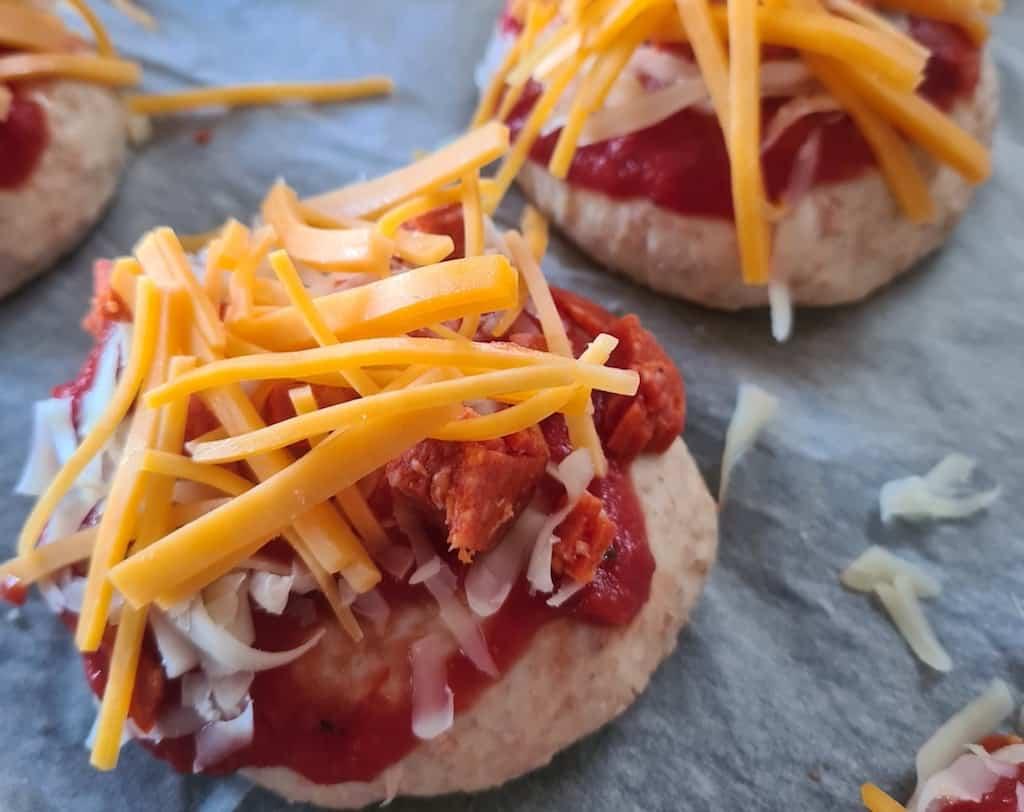Pizzaboller - lækre boller a la pizza til madpakken