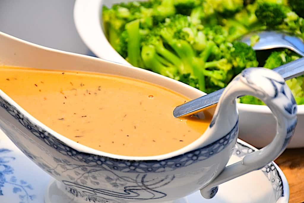 Sennepssky - nem sauce til mørbrad, kylling og andet