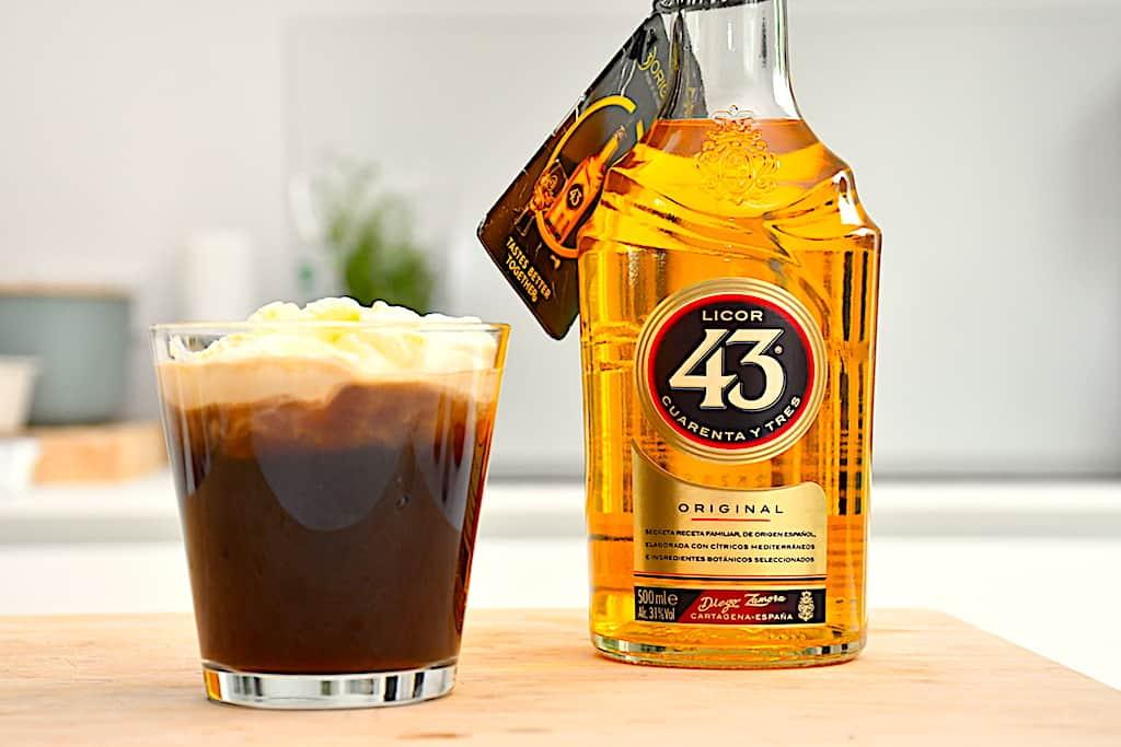Spansk kaffe - opskrift på kaffe med Licor 43