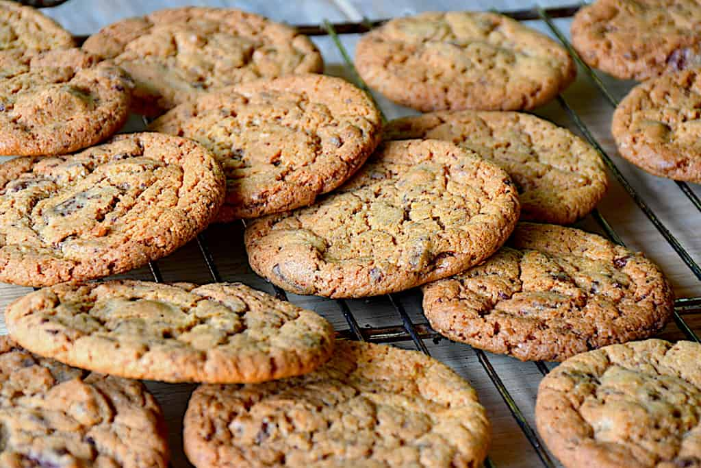 Thermomix chokolade cookies (24 stk.)