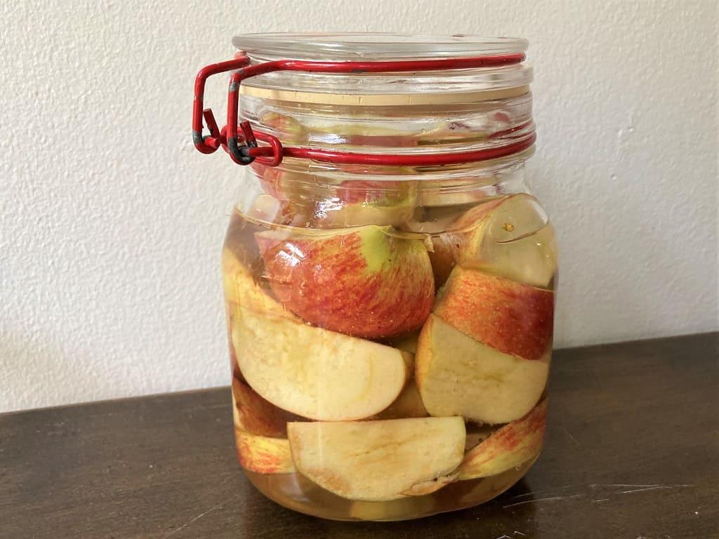 Hjemmelavet æbleeddike - den hurtige og langsomme