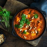 Curry med butternut squash