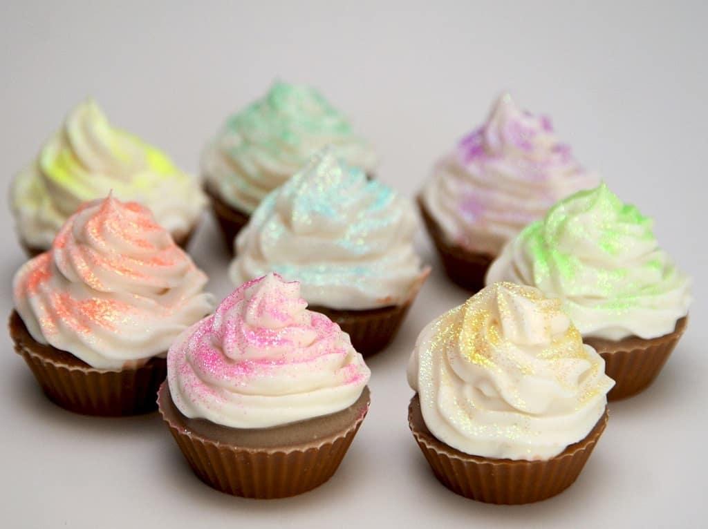 Muffins og cupcakes - hvad er forskellen på dem?