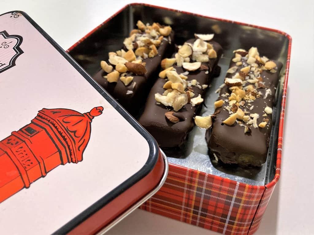 Dadelbarer med chokolade - den bedste opskrift