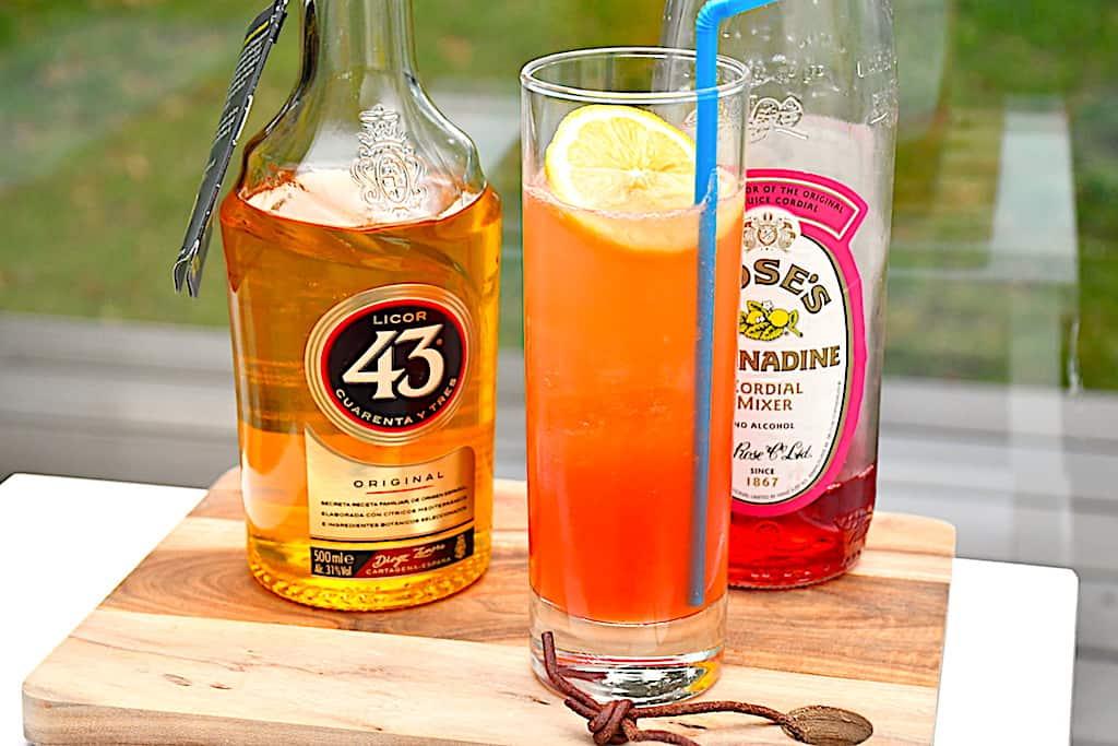 Grenadine Shake - lækker drink med Grenadine