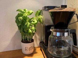 Kaffe med kaffefilter