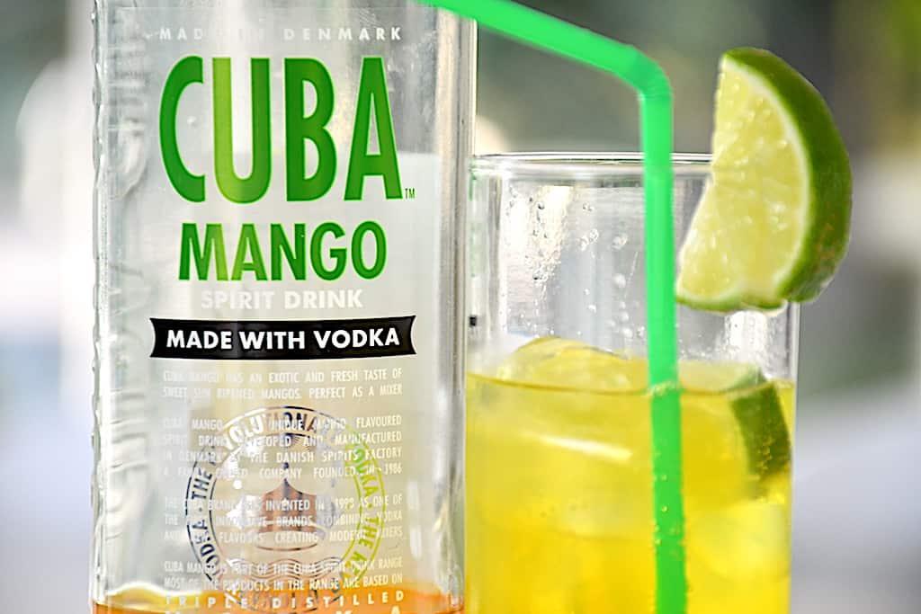 Mango Mania - drink med Cuba Mango og Sprite