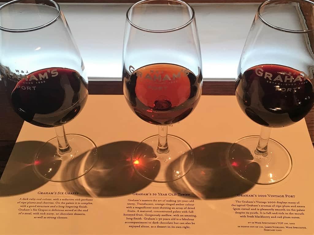 Portvin tre glas