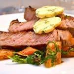 billederesultat for steak med rodfrugter
