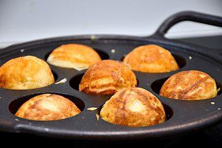 billederesultat for æbleskiver i æbleskivepande