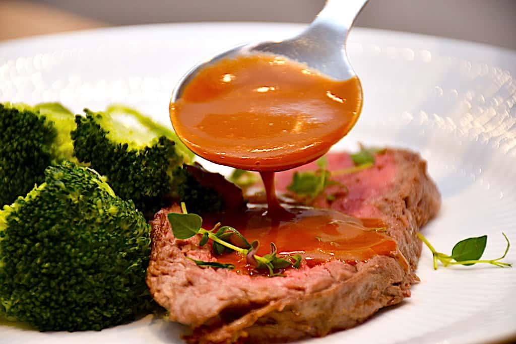 Demi glace - opskrift på sauce som på restaurant