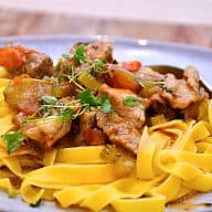 billederesultat for Ibérico gryde med pasta