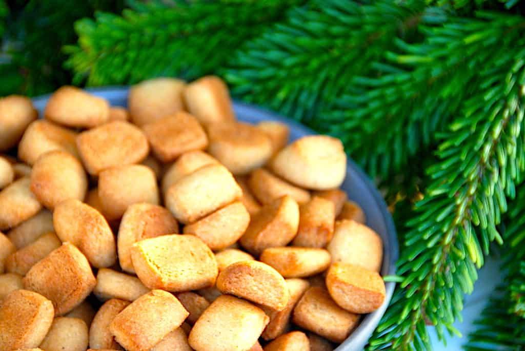 Lagkagehusets pebernødder - julens bedste opskrift