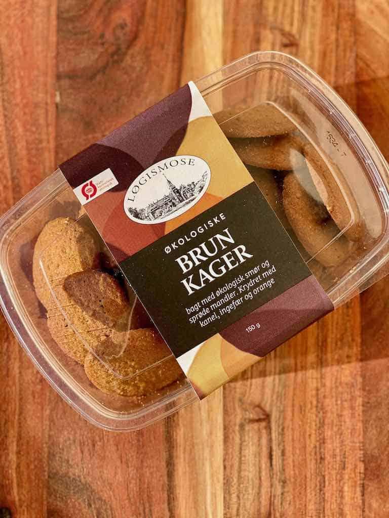 Løgismose økologiske brunkager, smagstest af brunkager