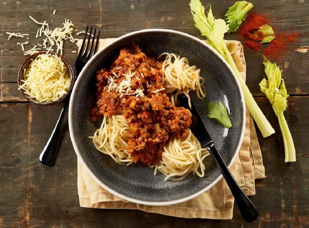 Danskernes livretter er blandt andet pasta med kødsovs
