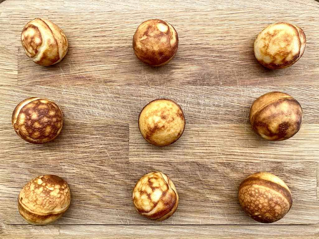 billederesultat for smagstest af æbleskiver